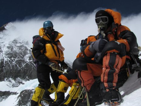 Down suits are an essential piece of clothing which enables you to live, move and function in a pretty harsh environment Credits to http://www.everestexpedition.co.uk/